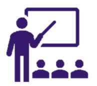 Education Icon Purple